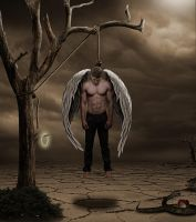lost guardian angel by christian3400