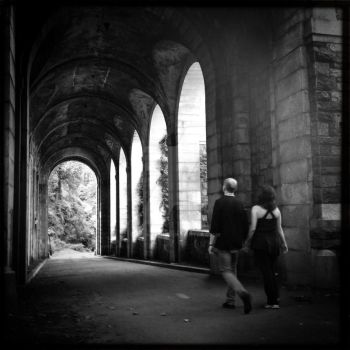 Ft. Tryon Park, couple. by vbeniaminov