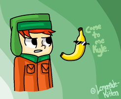 You ARE The Banana King, Kahl by 4DAMANT