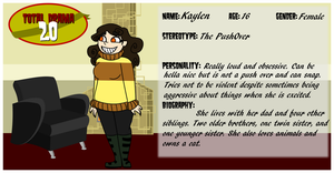 Total Drama 2.0 Application by LaughterLover