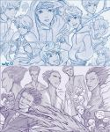 Rise of the Guardians: Jack and Pitch sketches by Kaira-Hiwatari
