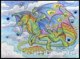 ACEO Dragon 04 by rachaelm5