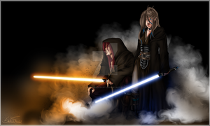 Return of the Jedi, eh? by KaelaCroftArt