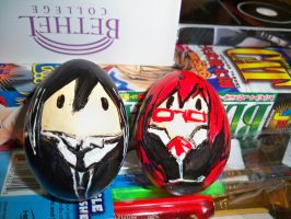 Grell x Sebastion Egg by RougeLeaderRed