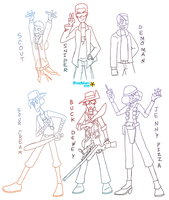 SU: The Cool Kids in TF2 by Porn1315
