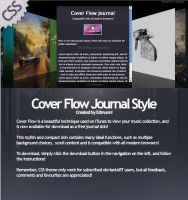 Cover Flow Journal - Free Down by WebMagic