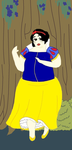 Plus Size Princess Snow White by ColdHeartedCupid