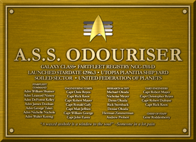 A.S.S. ODOURISER PLAQUE by S0LARBABY