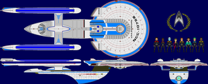 ST: U.S.S. Dauntless NCC-10758 by dantrekfan48