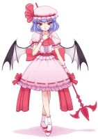 Remilia Scarlet - 2 by orbg