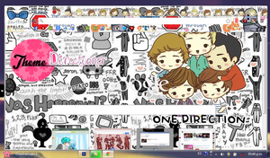 Thema GoogleChrome OneDirection Piaedition by Piiaedition2