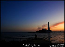 St Marys Lighthouse 2 by N1ghtf4ll3r