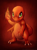004 Charmander by Magickie