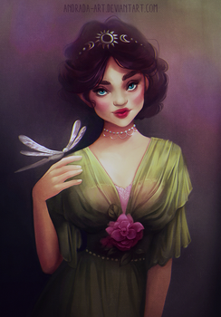 Pretty in green by andrada-art