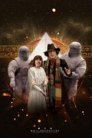 Doctor Who - Pyramids of Mars Cover Art by willbrooks