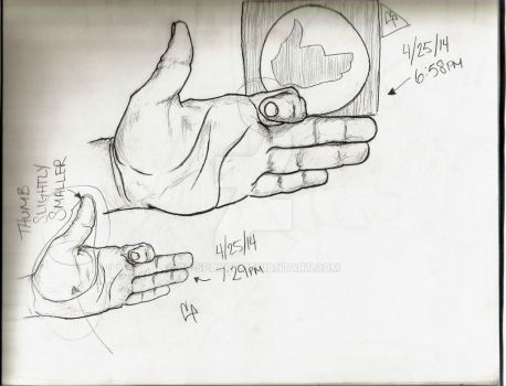 Hand 3 by CP-spayce