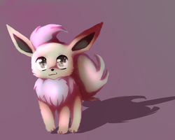 Shiny Eevee RQ +SPEEDPAINT by Shiiruba