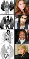 Maximum Ride Dream Cast by V8S