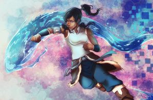 Legend of Korra - Waterbender 2016 by SirWendigo