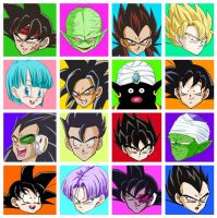 DB button icons by nuooon