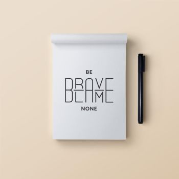Be brave blame none by samadarag