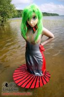 Kigurumi mermaid by latex-rat