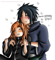 Madara~Reina: Nothing to Hold onto! :X by Urufei-Chopsticks