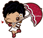 Lady with a Parasol by mAi2x-chan