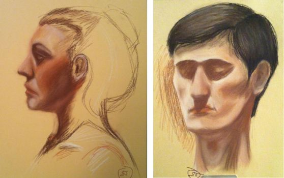 Unfinished Portraits by Shiloh-Tovah