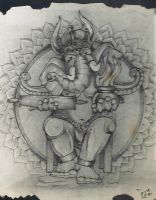 LORD OF SUCCESS GANESHA by KOKORONIN