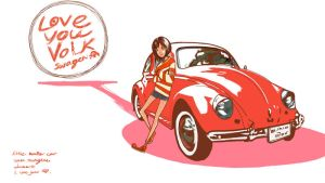 love you Volkswagen1 by Komai69i
