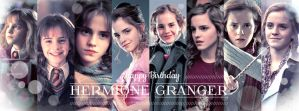 Happy Birthday Hermione Granger by ProfBell