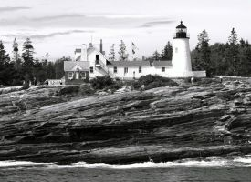 Monochrome Pemaquid by davincipoppalag