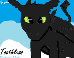 Toothless :3 by apinon