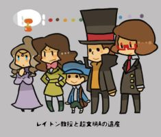 Professor Layton and the Azran Legacies by khrssc