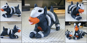 PKMN: Houndour by yingmakes