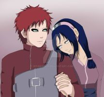 Comission : Gaara and Kaguya - Together Forever by RinARinI