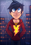 Billy Batson - Shazam by VicTycoon