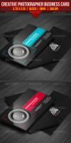 Creative Photographer Business Card by EgYpToS