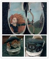 Pixar's Brave Shoes by brenduh90