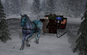 Sleigh Time by AldreaAlien