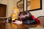 Yang and Ruby in Class by firecloak
