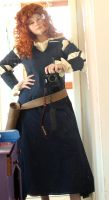 cosplay wip merida by FrauDoku