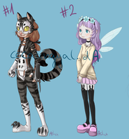 SOLD! //Adoptables set #1 by Cecaangyal