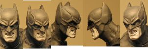 Bermejo Batman paint  5 by BLACKPLAGUE1348