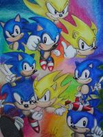 SONIC the hedgehog by SusHi182