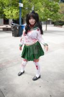 Zombie Sailor Scout by QueenSheba24
