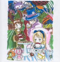 Alice in wonderland by cramp666