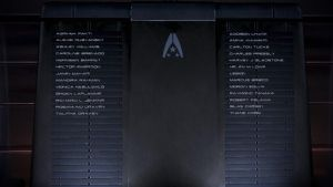 Memory Wall, Normandy - Mass Effect 3 by loraine95