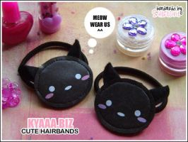 kyaaa.biz - Cat Hairbands by shiricki